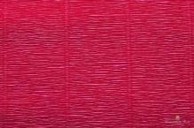 Бумага гофрированная Италия 50см х 2,5м 140г/м? цв.984 бордовый