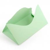 Основа  для подарочного конверта Комплект №4 цв.св.зеленый матовый 1шт