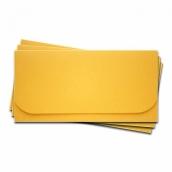 Основа  для подарочного конверта Комплект №6 цв.желтый матовый 1шт