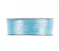 Лента атласная 3 мм 91.4 м №133 голубой