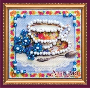 Набор для вышивки бисером «Магнит мини» Травяной чай