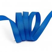 Лента Ideal репсовая в рубчик шир.12мм цв. 366 ярк.синий