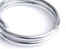 Проволока O 1,5мм цв.01 серебро рул.10м