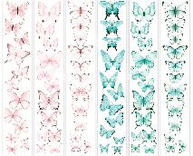 """Полоса с картинками для декорирования """"Бабочки 4"""""""