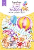 "Набор высечек, коллекция ""Sweet birthday"", 54шт"