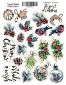 "Набор наклеек (стикеров) #051, ""The spirit of Christmas"""