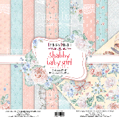 "Набор скрапбумаги ""Shabby baby girl redesign"" 20x20см"