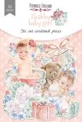 "Набор высечек, коллекция ""Shabby baby girl redesign"", 55шт"
