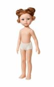 14442 Кукла Кристи б/о, 32 см (без челки, два пучка, глаза зеленые)