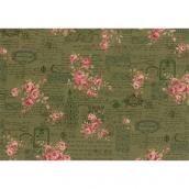 Ткань для пэчворка PEPPY ANTIQUE ROSE 50 x 55 см 112±4 г/кв.м 100% хлопок