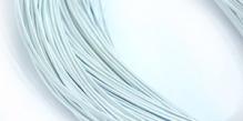 Канитель жесткая серебро 1,2мм 10г