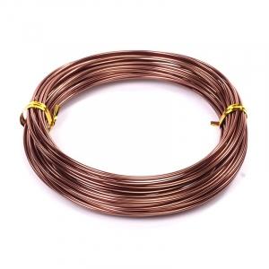 Проволока O 1,5мм цв.18 коричневый рул.10м