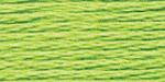 """Нитки для выш """"Gamma""""  мулине  100% хлопок  8 м №0207 салатовый"""