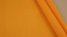 Бумага гофрированная Италия 50см х 2,5м 140г/м2 цв.976 св.оранжевый