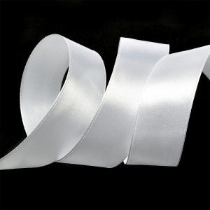 "Лента атласная 1"" (25мм) цв.3001 кипено-белый IDEAL 1 м"