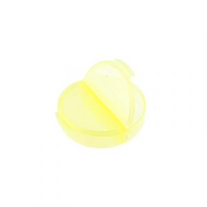 "Коробки для рукоделия   ""Gamma""   контейнер   пластик   T-33  желтый\прозрачный"