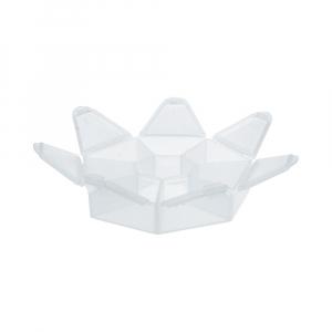 """Коробки для рукоделия   """"Gamma""""   контейнер   пластик   T-36  прозрачный"""