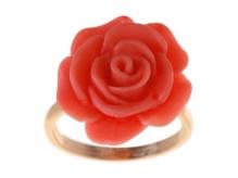 Арефа (Кольцо) Покрытие: Позолота Вставка: СамоцветыЦвет вставки: Оранжевый Разм17
