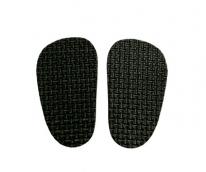 Подошва для изготовления обуви арт.КЛ.25137 толщ.4мм 4х7см 1 пара черный