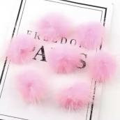 Помпон 2,5см яр. розовый