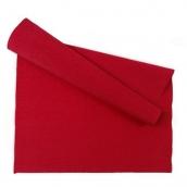 Бумага гофрированная Италия 50см х 2,5м 140г/м?цв.989 т.красный
