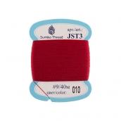 """Нитки для вышивания   """"SumikoThread""""   JST3   9   100% шелк   40 м №010 т.красный"""
