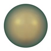 """Бусина стеклян """"Сваровски"""" 5810 радуж 8 мм 1 шт под жемчуг   кристалл синий-зеленый (irid. green 930)"""