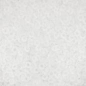 """Бисер Япония """"TOHO"""" 11/0 DEMI №2  2.2 мм  5 г №0001F белый матовый"""