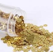 Пайетки 4мм 2000шт. 10г цв. золото
