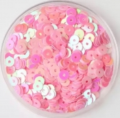 Пайетки 4мм 2000шт. 10г цв. розовый