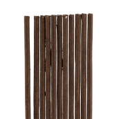 Проволока флористическая в оплётке   0.55 мм 30 шт.  40 см№03 коричневый
