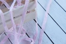Тесьма 1см розовый 1м