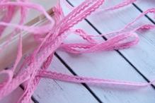 Тесьма 0,8см ярко розовый 1м