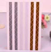 Уголки для фото матовые 3в1 (коричн, серые, белые)