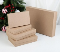 "Коробка ""Крафт однотонный""19 х 12 х 6,5 см"
