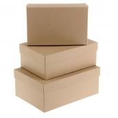"Коробка ""Крафт однотонный"", 21,5 х 13,5 х 8,5 см"