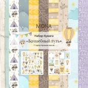 """Набор бумаги MoNa Design """"Волшебный путь"""" 11 односторонних листов 305х305мм"""
