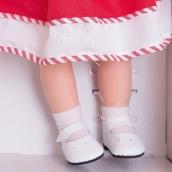 84557 Носочки белые для кукол 32 см, (10 шт. в упаковке)