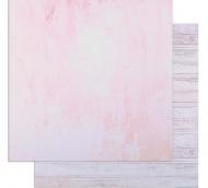 "Фотофон двусторонний ""Розовая штукатурка и доски"" 45 х 45 см, переплётный картон, 980 г/м   4729336"