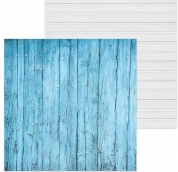 Фотофон двусторонний «Сайдинг,доски», 45 ? 45 см, переплётный картон, 980 г/м