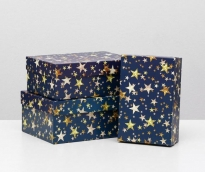 "Коробка ""Звездопад"", 19 х 12 х 6,5 см 5360005"
